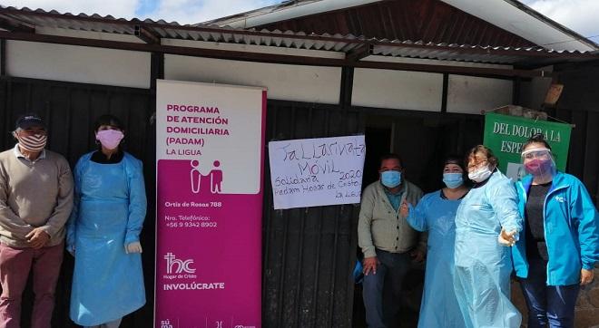 """La """"olla móvil"""" de La Ligua: puro corazón y fuerza del voluntariado"""