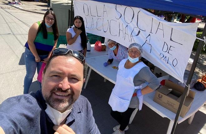 """Luis Ossa, director de Acción Solidaria: """"Más que esperar ayuda estatal, hay gran proactividad frente a la dificultad"""""""